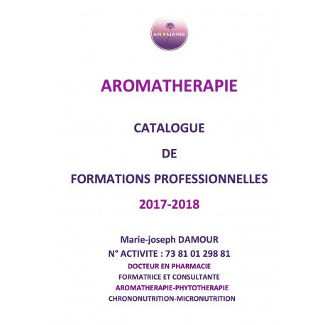 CATALOGUES DES FORMATIONS