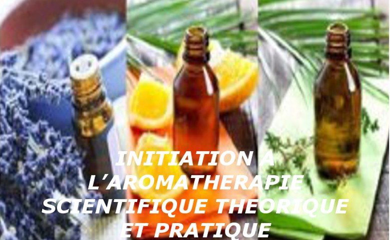 INITIATION A L'AROMATHERAPIE SCIENTIFIQUE THEORIQUE ET PRATIQUE